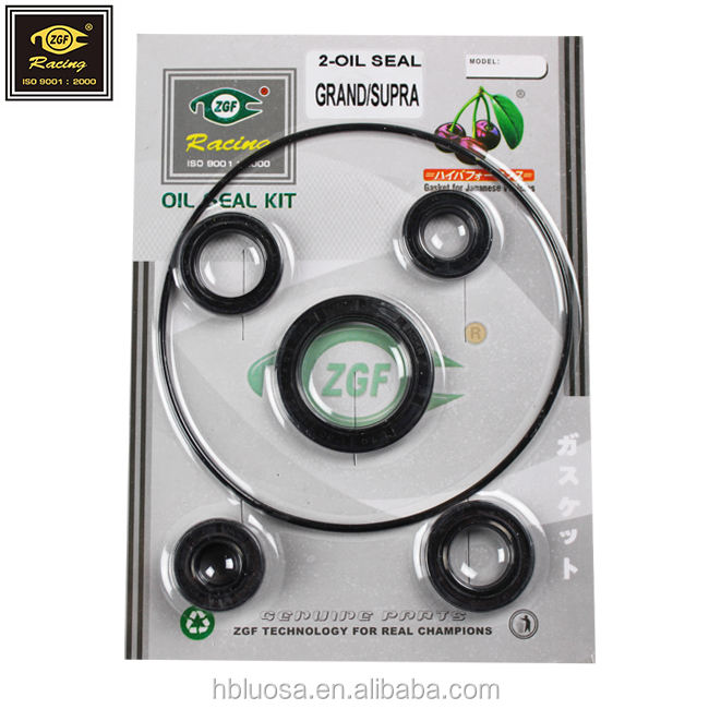 oil sealing for motorcycle engine