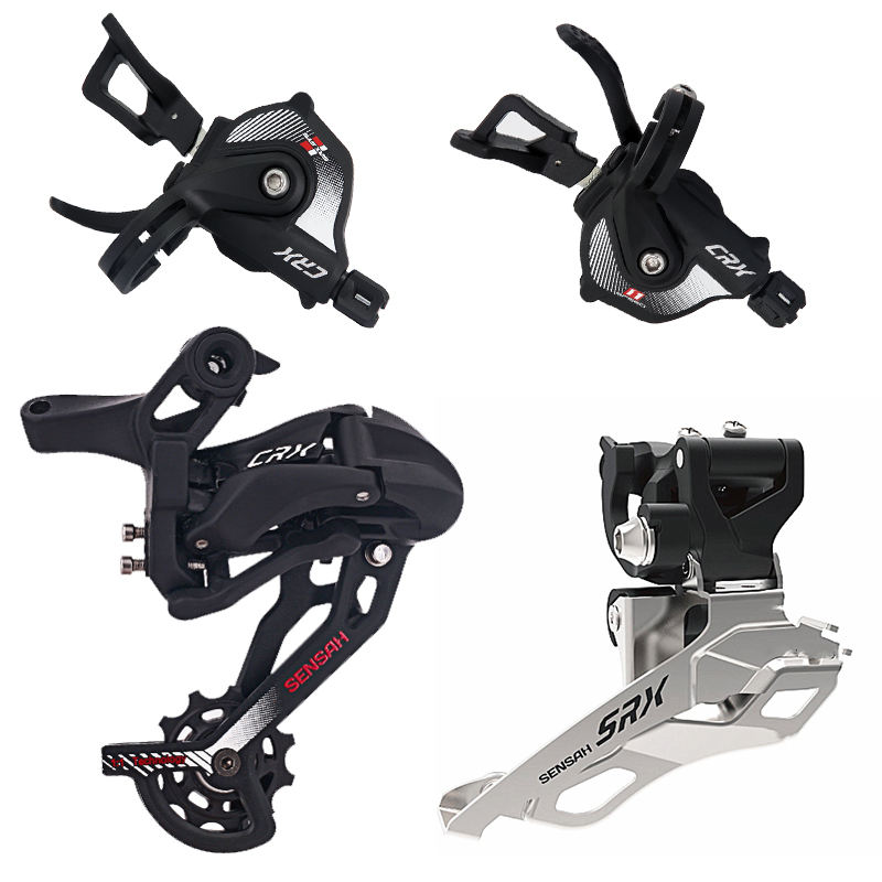 snelheden 2x11 speed Mountain Bike Derailleur Group Shifter Lever MTB groepset 11s