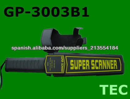<span class=keywords><strong>Alarma</strong></span> de seguridad de la bomba del detector de metales Super escáner GP-3003B1