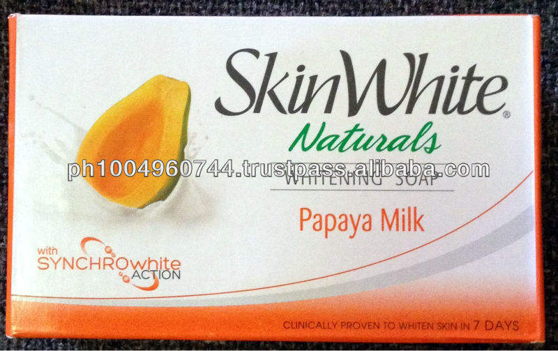 18 SkinWhite Naturals Papaya Milk Whitening Soaps Whitens 7 days
