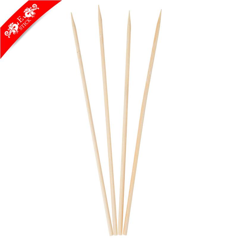 Lebensmittelqualität reinigung bambus garnelen-spieß in verschiedenen paket