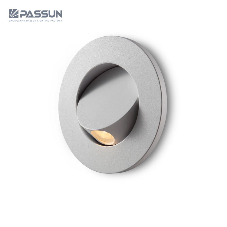 Indoor adjustable round 3W 30degree modern led wall lamps bedhead reading led wall light with switch