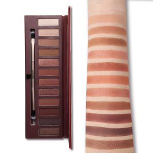 12 Colors Naked Heat Matte Shimmer Eyeshadow Palette With Earth Color