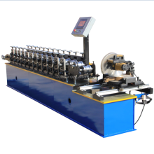 Metal rolling shutter slats forming supplierand Metal Ceiling slat roll forming machine maker