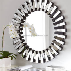 Round shape decorative infinity wall mirror