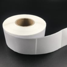 Low Price High Quality Clear Logo Design Custom Size Barcode Stickers Print Label Roll Thermal Self Adhesive Paper