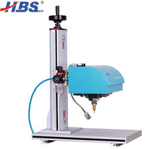 CNC Pneumatic Dot Peen Marking Machine for Nameplate Metal Serial Numbers Engraving Benchtop Design