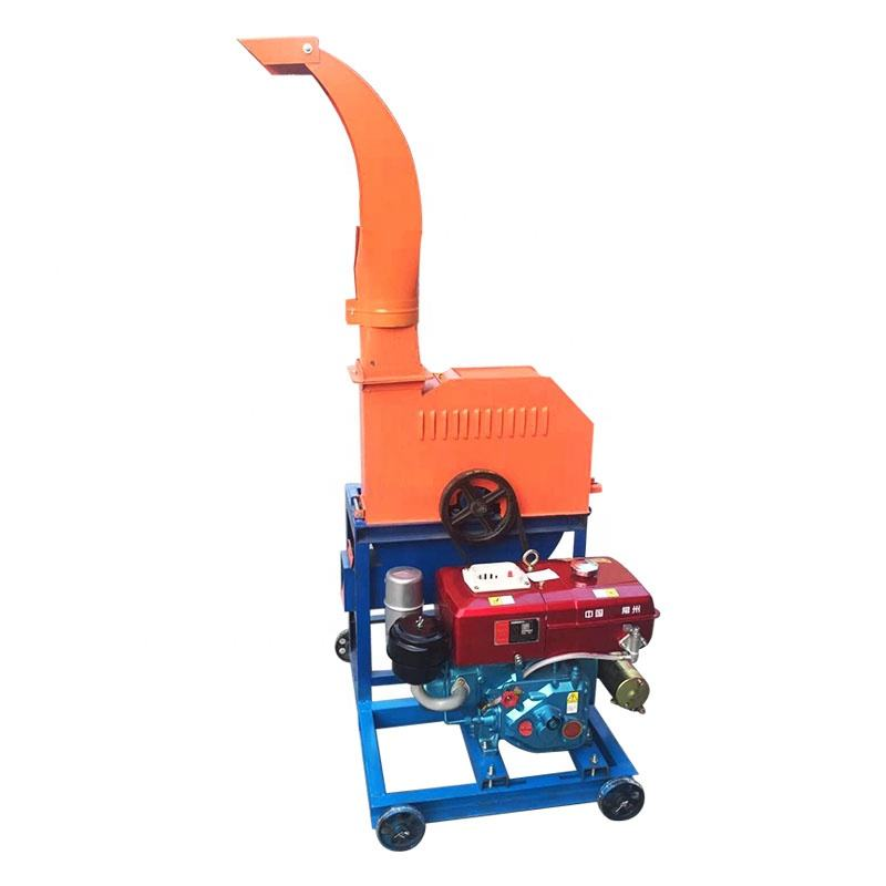 Best Selling Diesel Engine Hand Chaff Cutter Hay Chopper For Animal Feed