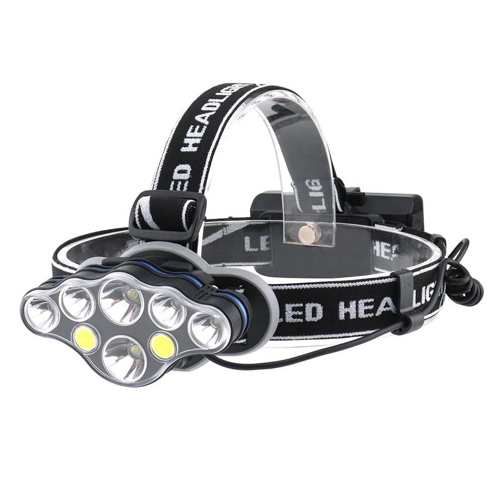 Multi Fungsi Lampu Petani Head Light 8 LED Buld Lampu Pertanian Lentera