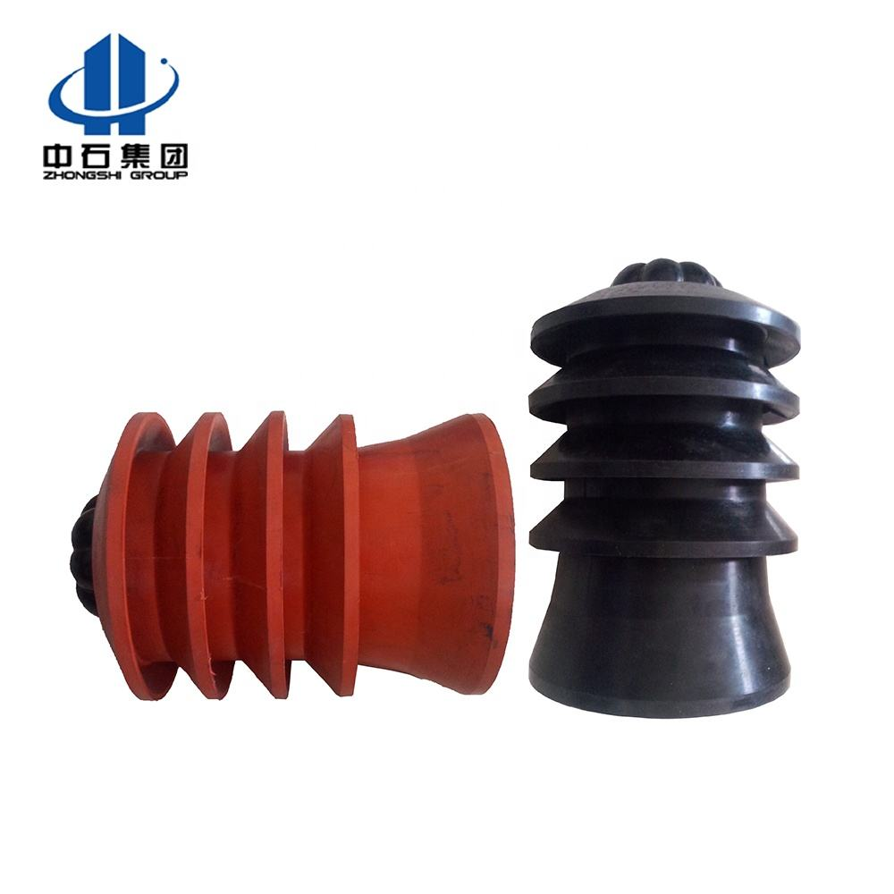 oilfield conventional 18 5/8'' top and bottom cementing wiper rubber plug