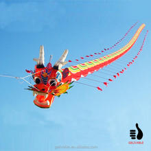 chinese large 50m flying dragon kite for sale