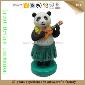 Polyresin Panda Mini Dashboard Pop Dashboard Speelgoed Dashboard Beeldjes Voor Decoratie