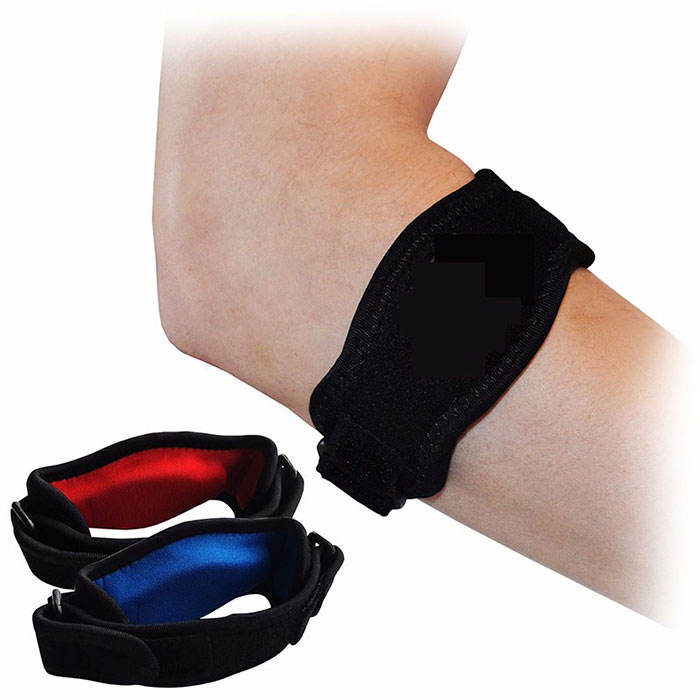 tennis Elbow Brace - Pain Relief for Tennis & Golfer's Elbow - Best Forearm Brace & Elbow Support with Compression Pad