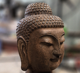 Natural stone marble buddha head for sale