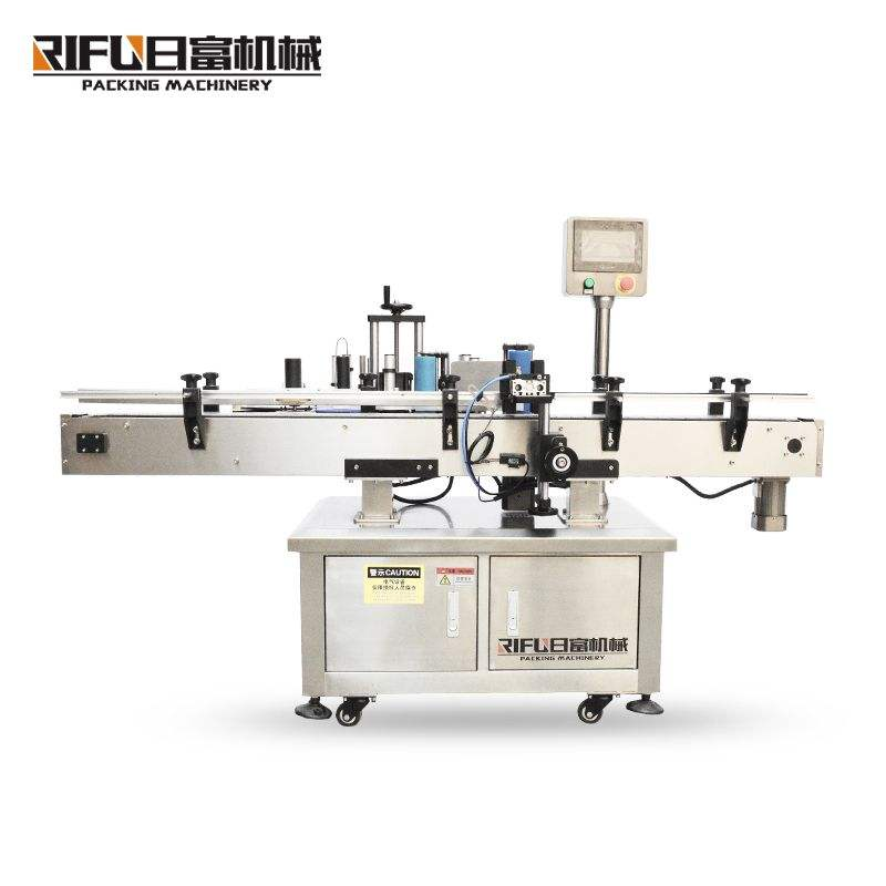 Electric Label Dispensing Machine/Round Bottle Labeling Machinery With Coding Printer
