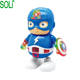 Children's Toys marvel Dancing Electric Robot action figure Light Music