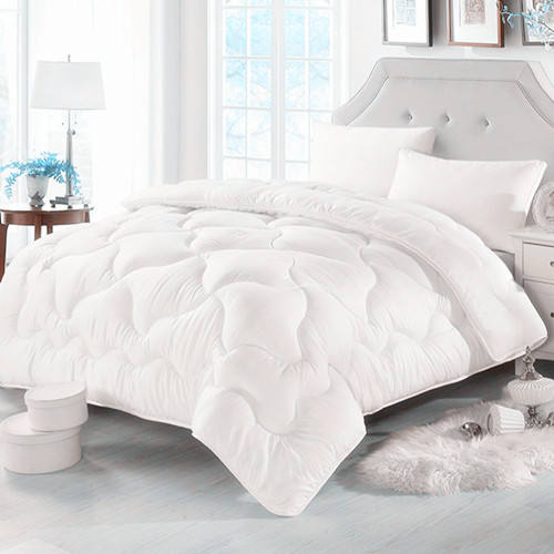 Microfiber solid comforter for bedding sleeping