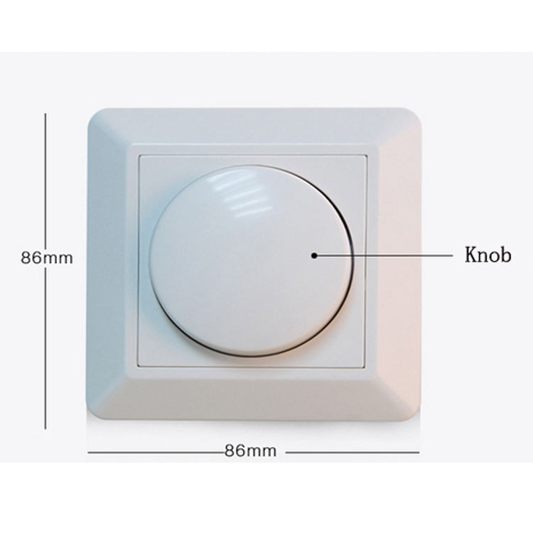 Square <span class=keywords><strong>CE</strong></span> RoHS TUV Kabinet Lampu <span class=keywords><strong>Dimmer</strong></span> <span class=keywords><strong>Switch</strong></span> 220 V 240 V