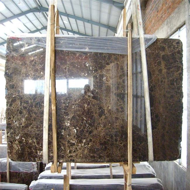 cheap price marron emperador marble