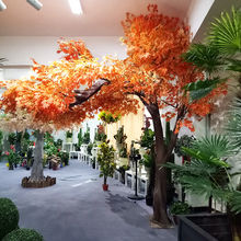 Good quality maple tree artificial autumn tree high simulation leaves indoor outdoor decor