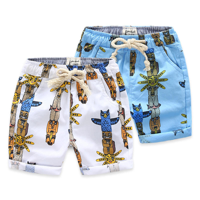 Wholesale Alibaba Polyester Cotton Fabric Beach Shorts For Boy Clothes