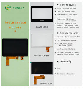 Large multi touchscreen 10.1 15 15.6 17 17.3 18.5 19 21.5 24 27 32 43 inch Capacitive Touch Screen Panel glass overlay kit