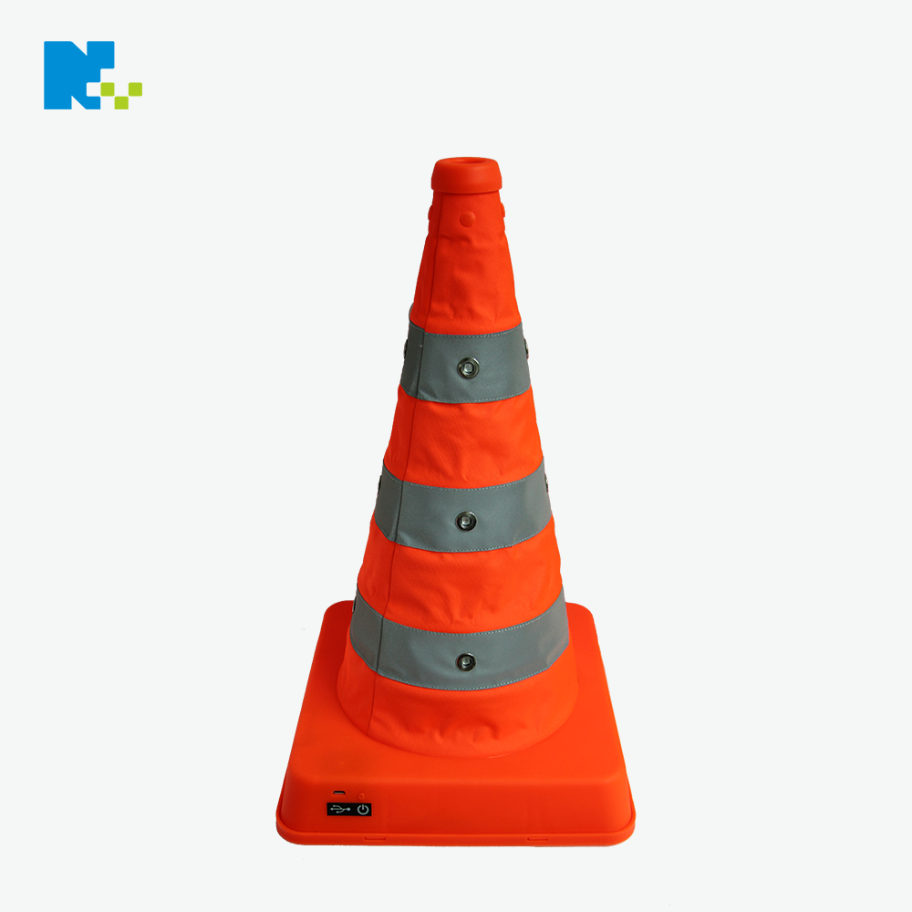 Led Reflective Safety Traffic Cones wirh Warning Lighting
