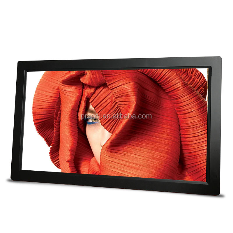 18.5 inch digital photo frame with Video Playback/slide show/ MP3/ MP4 functions