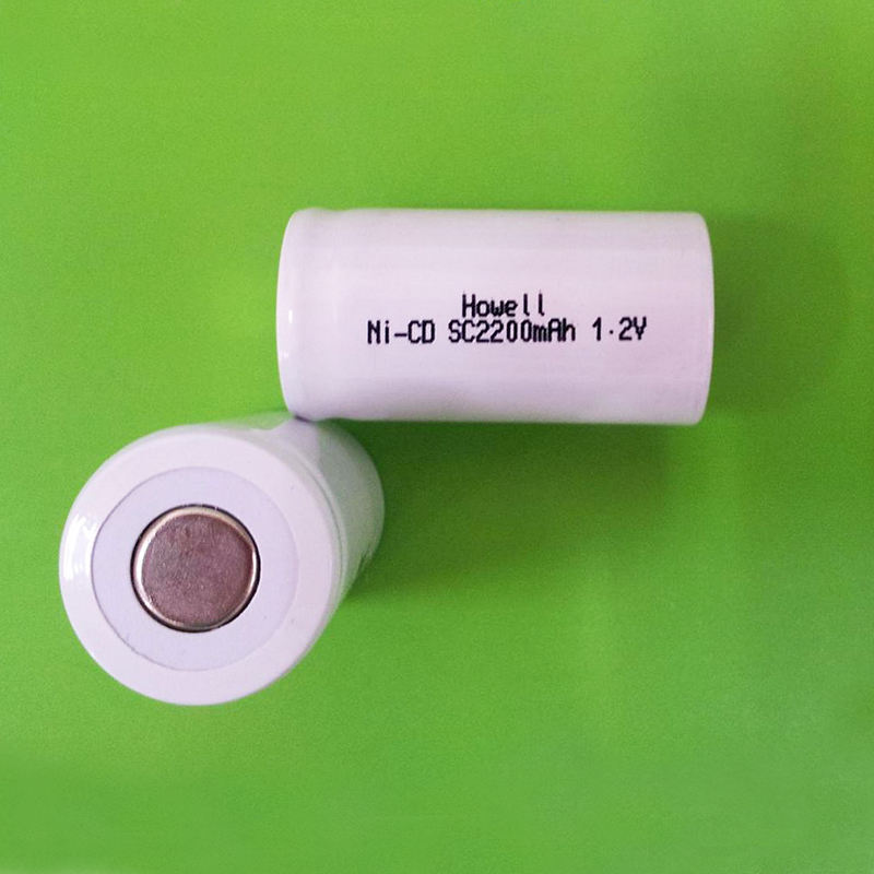 Nickel Cadmium Rechargeable Battery 1.2V SC2200