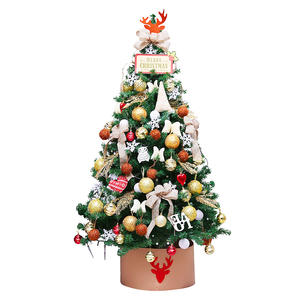 Hot Sales Mini Artificial Christmas Tree With Wood Base For Xmas Decoration