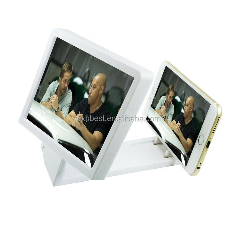 Hot Selling Products 3 Times Mobile Phone F1 Screen Magnifier 3D Cell Phone Screen Magnifier Phone Enlarged Screen