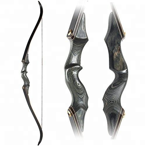 "H22 ILF wooden bow for hunting 17"" riser"
