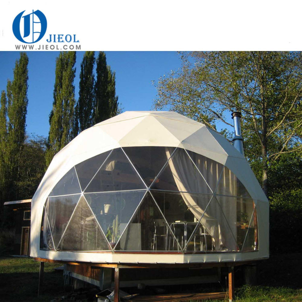 5m best price geodesic dome , china low cost geodesic dome tent