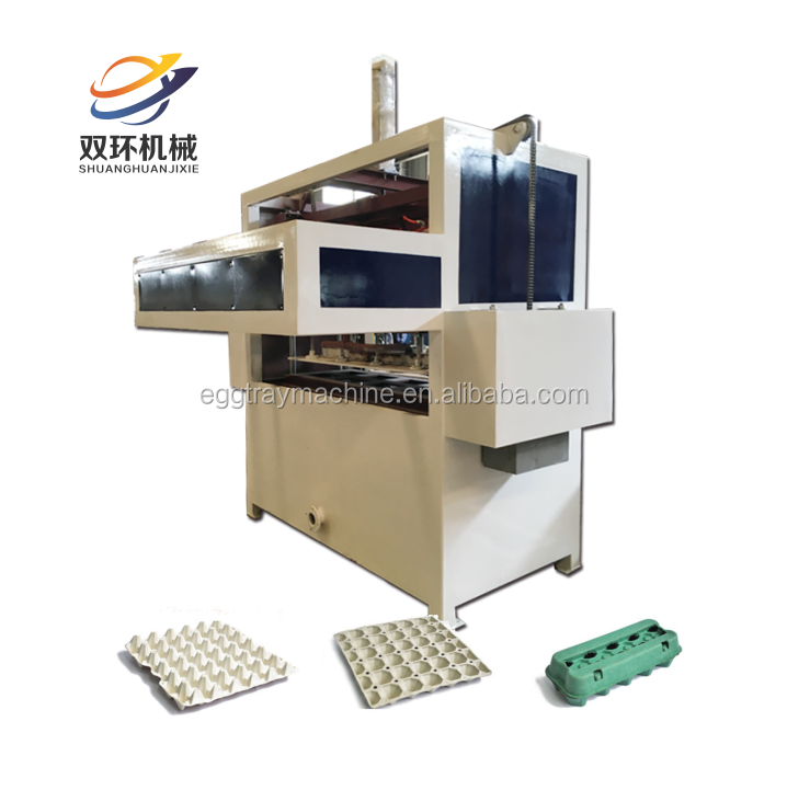 Best quality egg tray machine egg tray production line