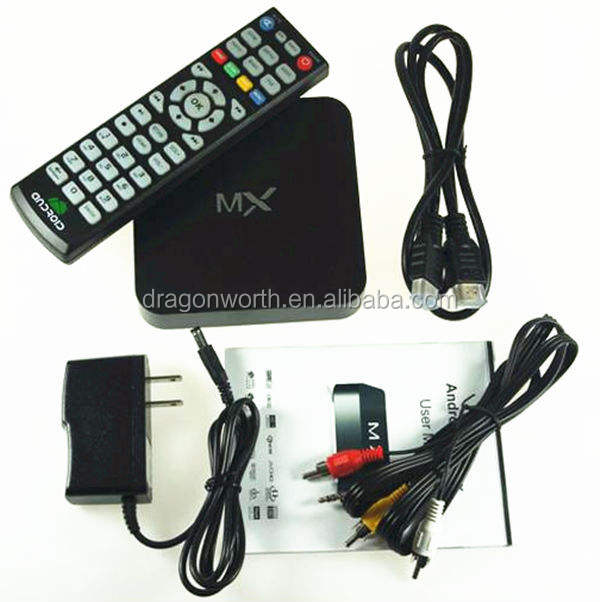 Dual Core Mx Android Caixa De Tv Dvb T2 Set Top Box