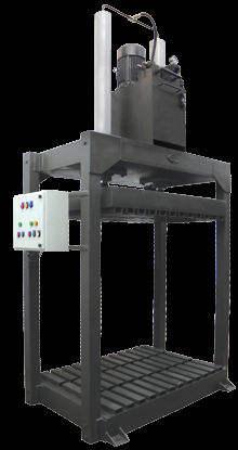 新しい安全な信頼性の高い機械・油圧バリングプレス