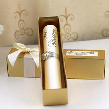 Unique Custom Elegant Luxury Paper Box Scroll luxury wedding invitation card
