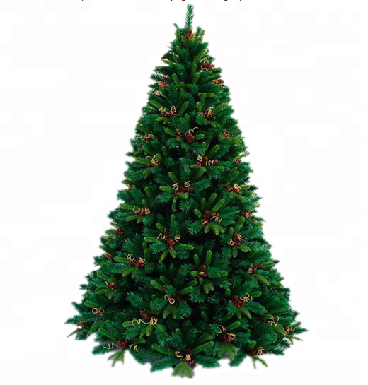 7.5 Green Slim Artificial Led Christmas Tree