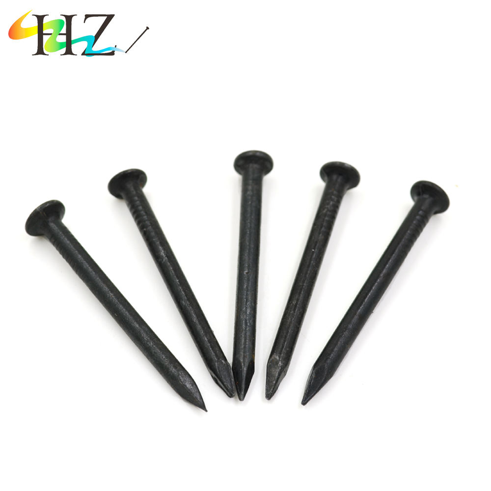 Galvanized Stainless hardened Black Plated concrete steel nails