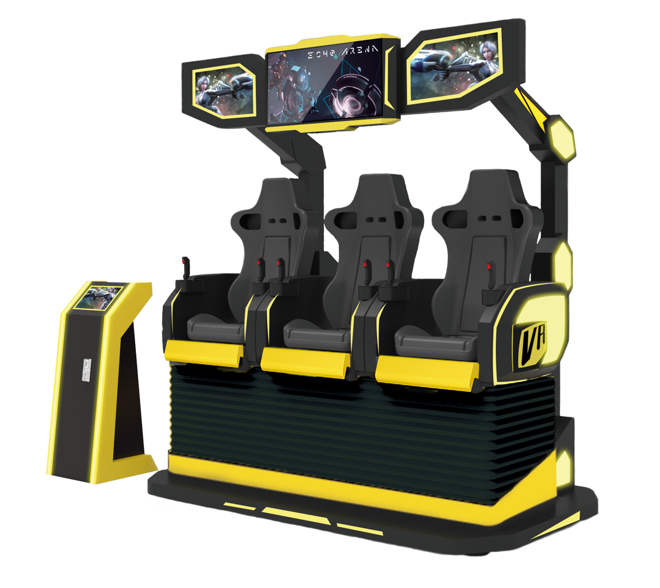 Motion Cinema 9D VR Chair 3 Seats Electric System 7D Theater 5D Game Machine Exclusive appearance