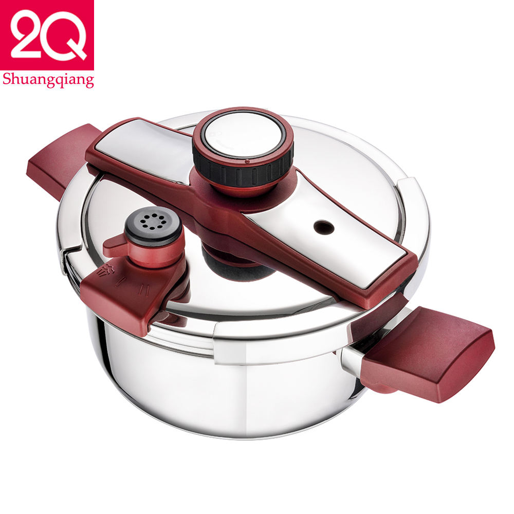cooking pot stainless steel pressure cooker with timer