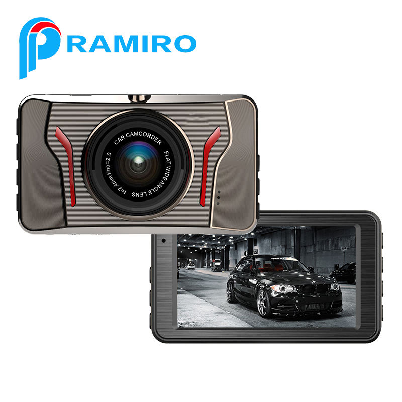Recommend 3.0 big size screen T611 video recorder with car camera road safely guard 1080 HD car black box