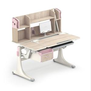 L12a Best size children bedroom furniture wood study table for Kids children study table and chair set