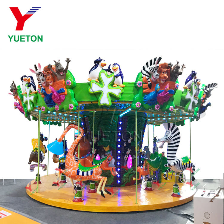 Best Price Carnival Games Sale Amusement Park Equipment Toys Items Merry Go Round Electric Kids Ride Carousel