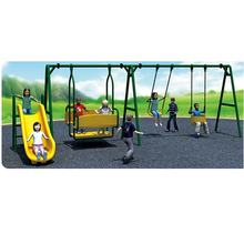 Galvanized steel outdoor swing sets for kids