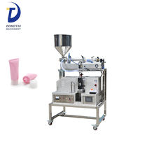 Semi-Automatic Ultrasonic Tube Filling Sealing Machine For Paste Or Cream