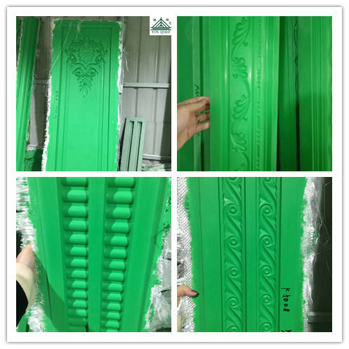 China Market In India Molds For Inside Decoration Gypsum Cornice Moulding