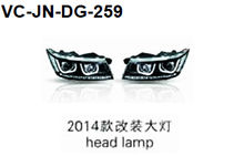 For dodge journey 2014 head lamp