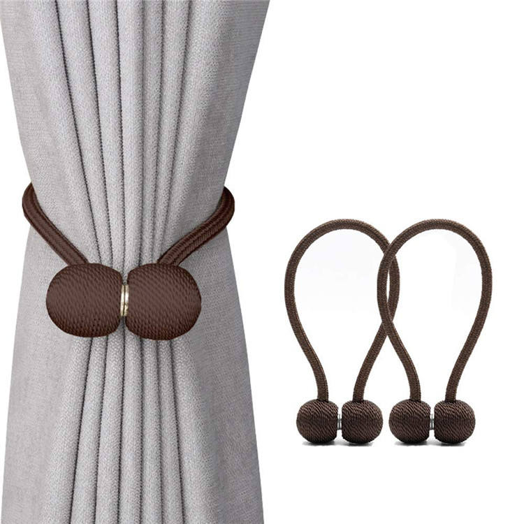 Wholesale textile curtain holdback tiebacks , magnetic curtain tiebacks @modern curtain accessories