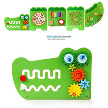 2016 new design Kindergarten early childhood parent-child game children's educational Wall game toy set